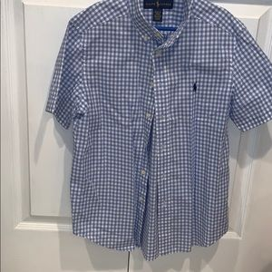 Ralph Lauren Boys short sleeve button down.